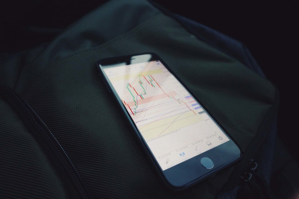 iphone with stocks